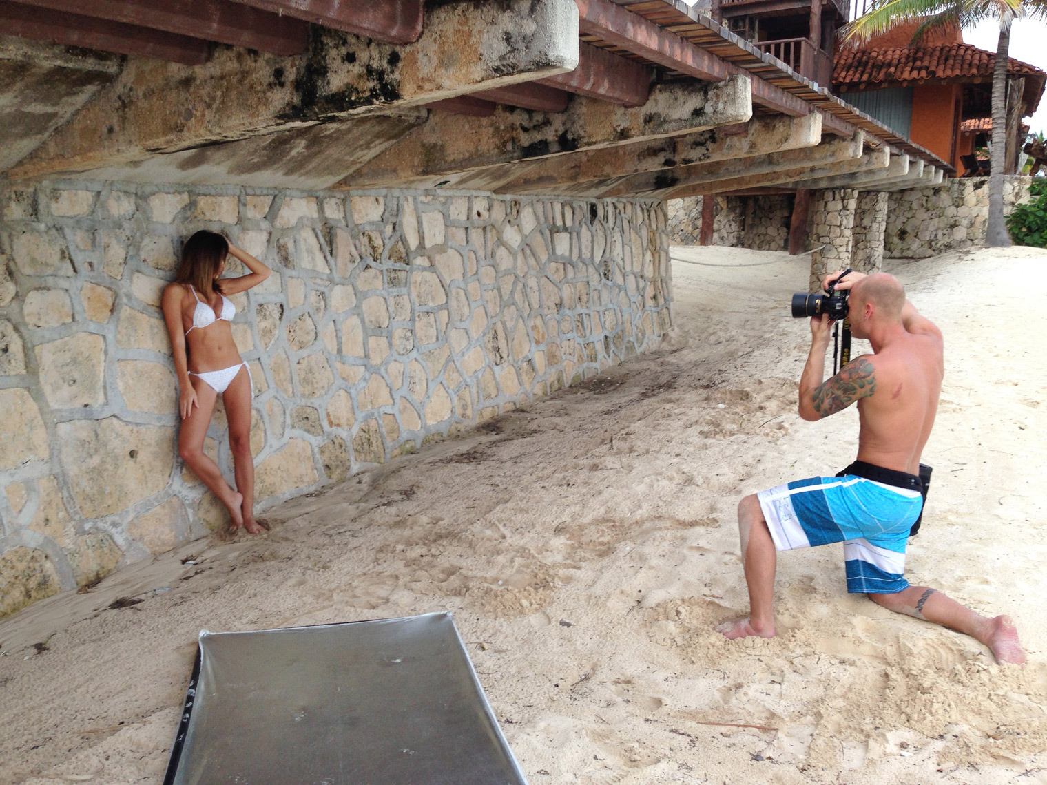 2017-Vancouver-BTS-Photographer-ErichSaide-Behindthescenes-Mexico-Bikini