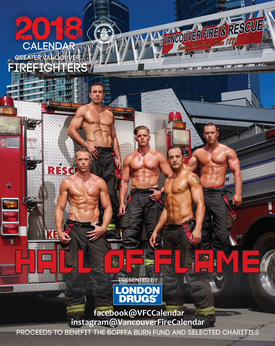 2017-Vancouver-CoversandTearsheets-Photographer-ErichSaide-Tearsheet-Calendar-Firefighters-LondonDrugs