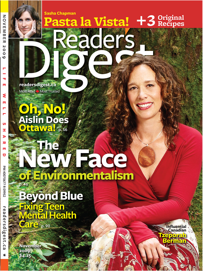 Tzeporah Berman - Readers Digest Cover