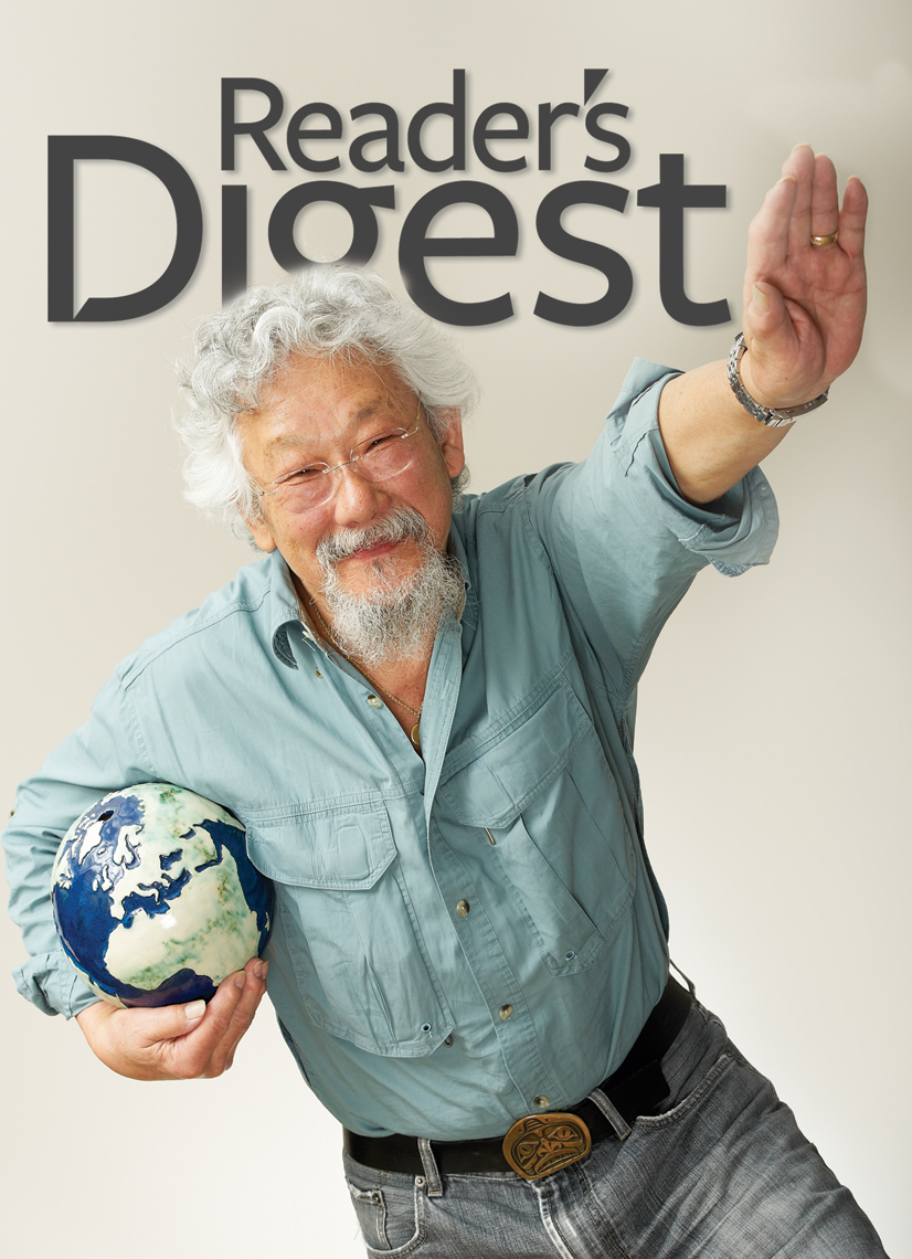 David Suzuki - Readers Digest Cover