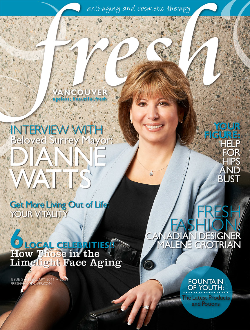 Mayor Dianne Watts - Fresh Magazine Cover