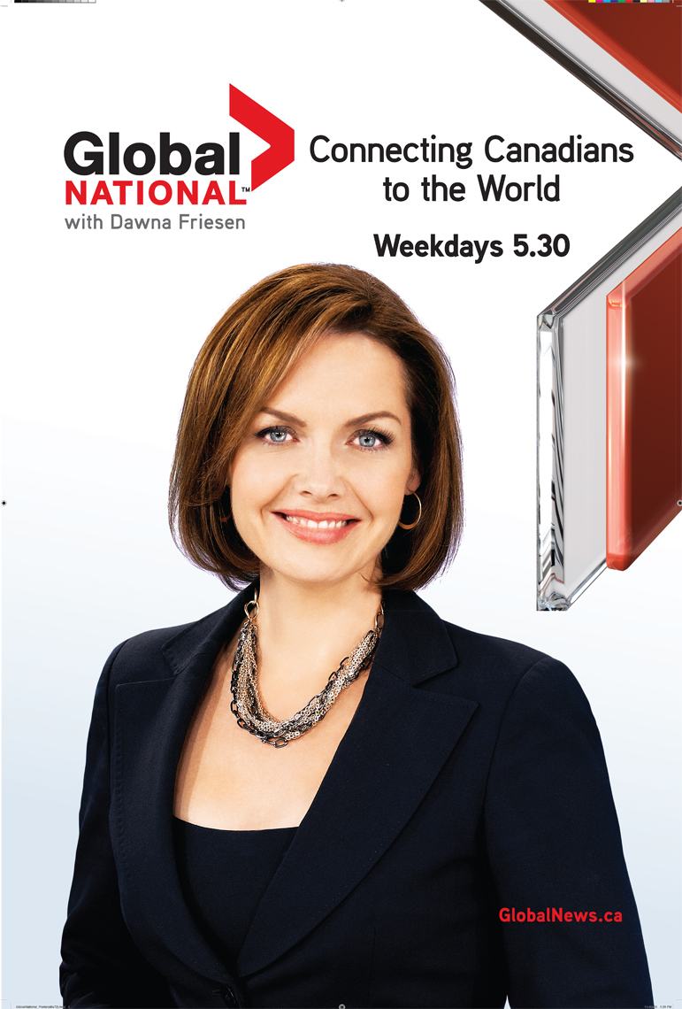 Dawna Friesen - Global National Ad
