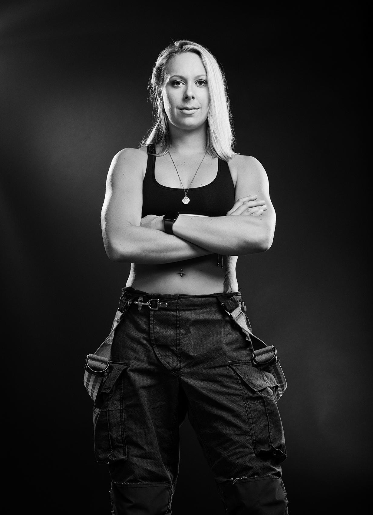 HOF-Hall-of-Flame-Calender-Erich-Saide-Vancouver-Portrait-Photographer-Female-Firefighters-First-Responders-Hot-Hero-July-Kelsey