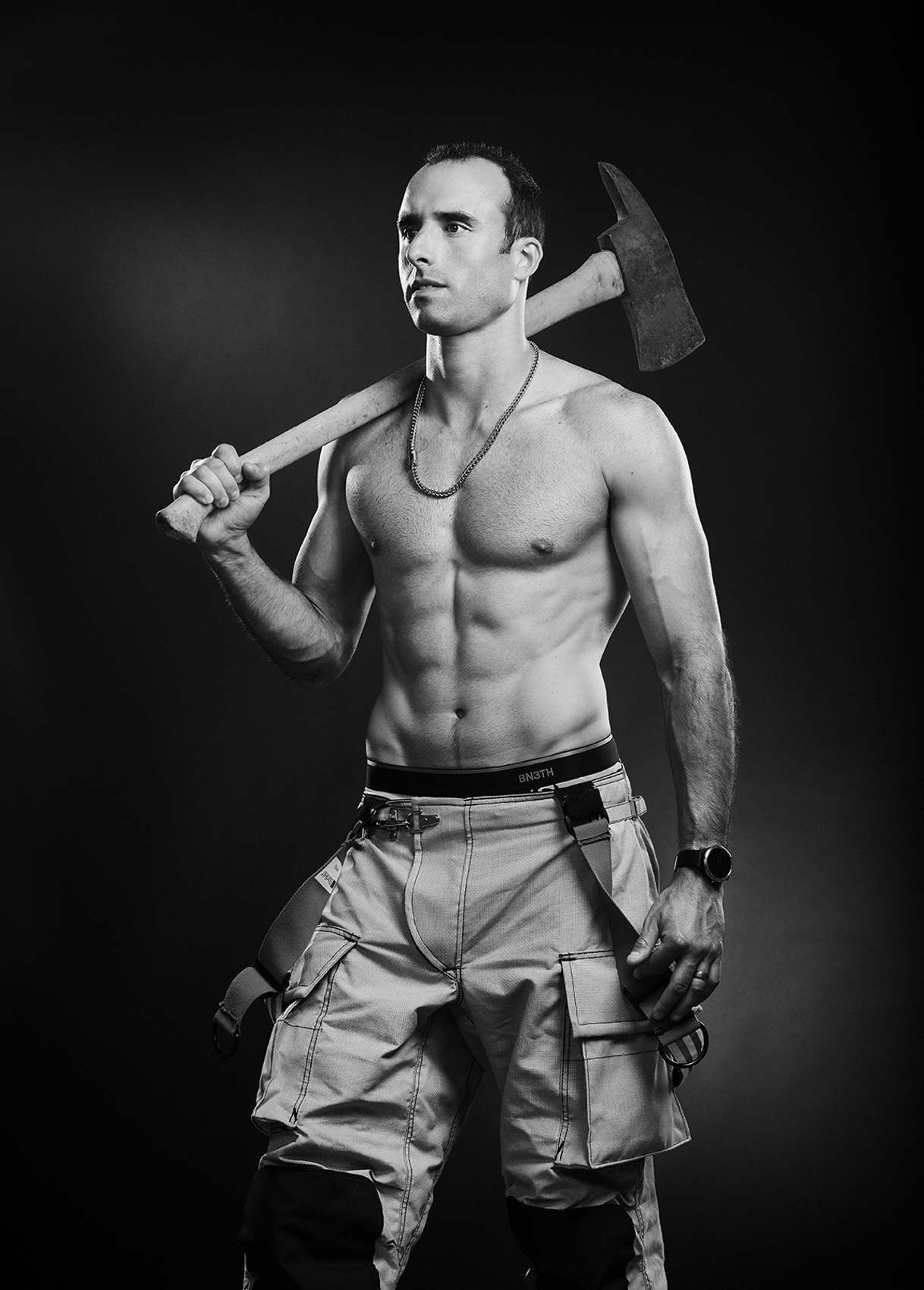 HOF-Hall-of-Flame-Calender-Erich-Saide-Vancouver-Portrait-Photographer-Firefighters-First-Responders-Hot-Hero-June-Facundo