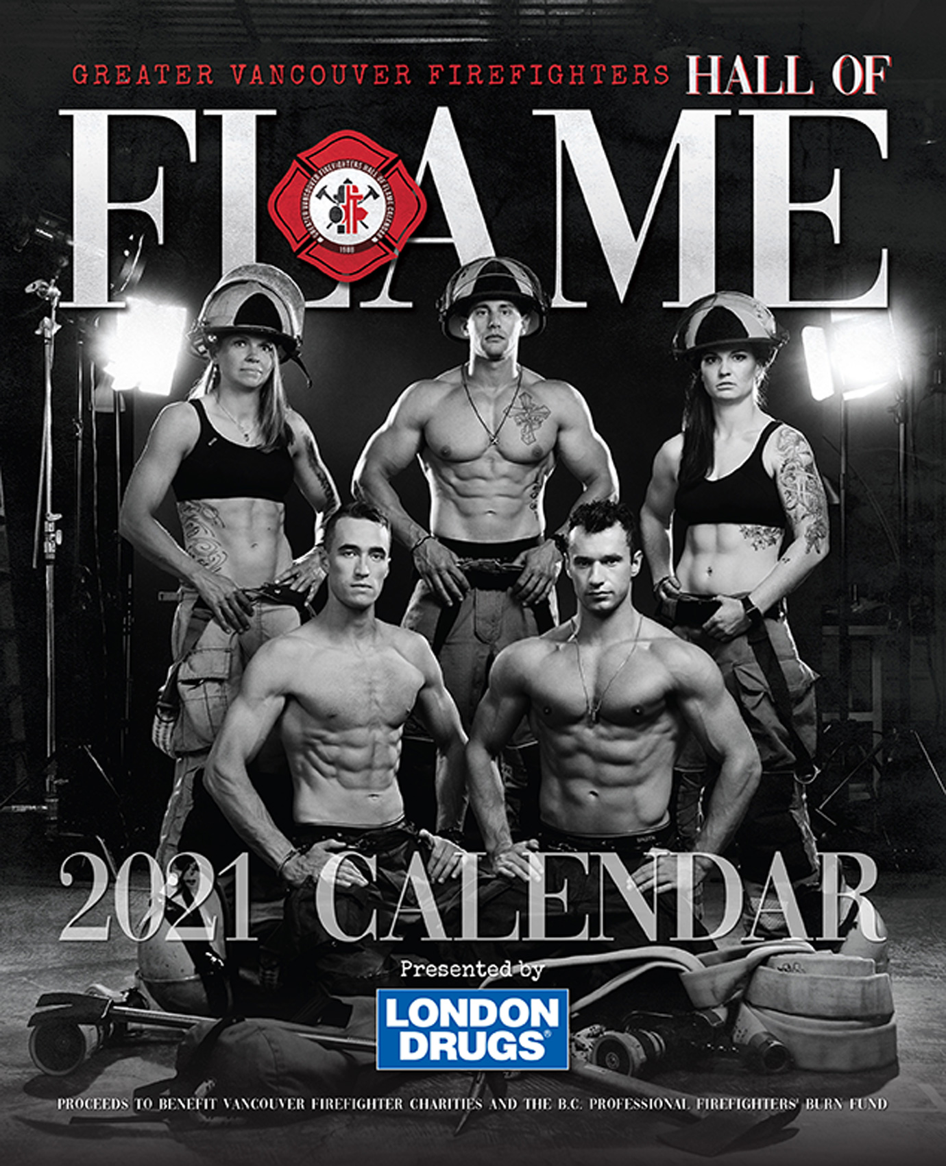 HOF-Hall-of-Flame-Calender-Erich-Saide-Vancouver-Portrait-Photographer-Firefighters-Hot-Heros-First-Responders-Cover