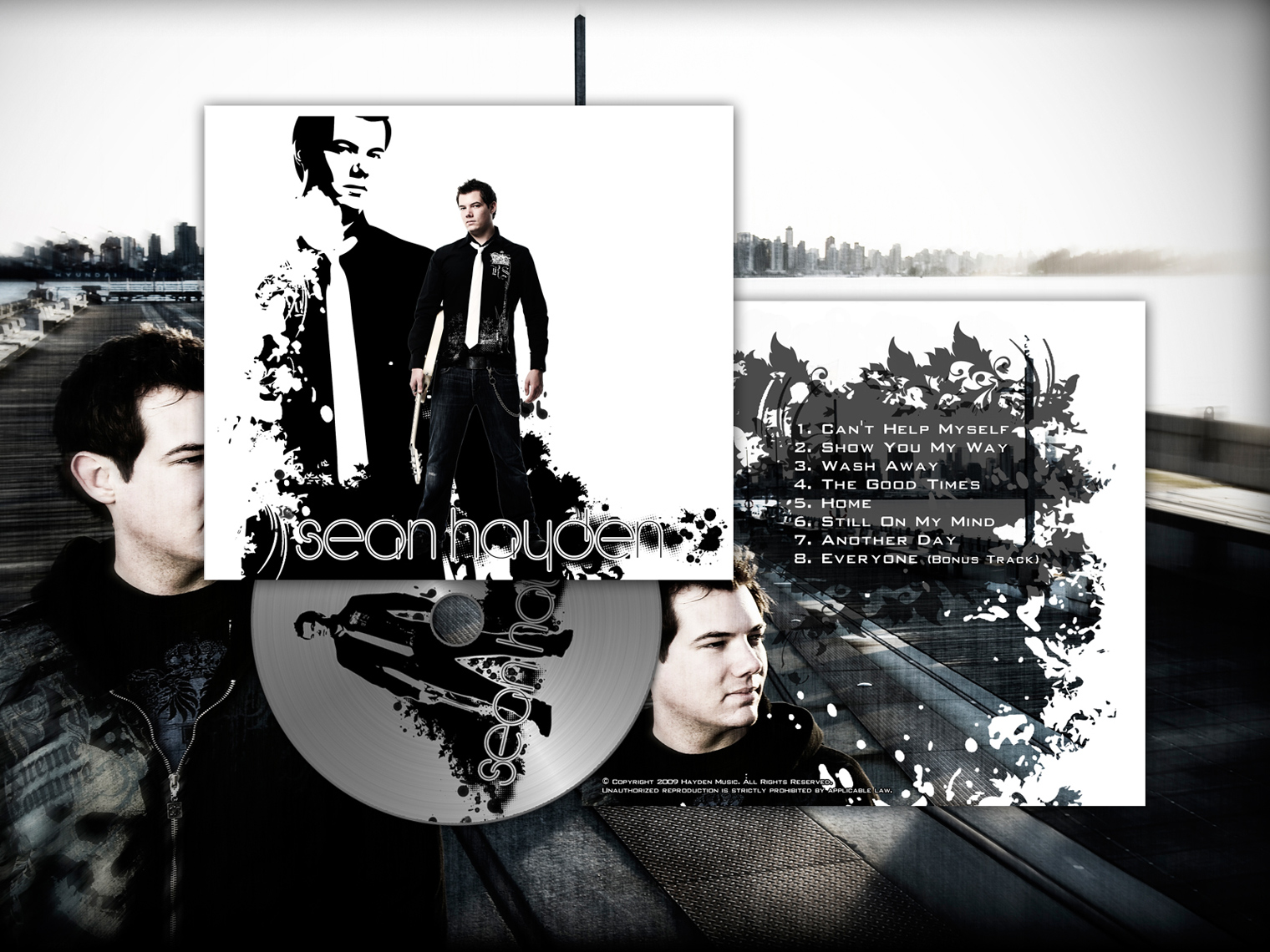 Sean Hayden - CD Cover and Layout