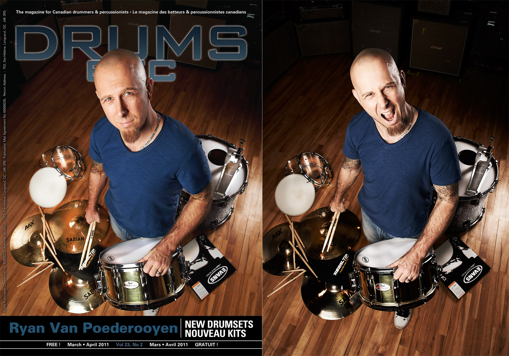 Ryan Van Poederooyen - Drums Etc Cover